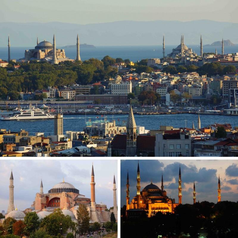 Istanbul eten met uitzicht