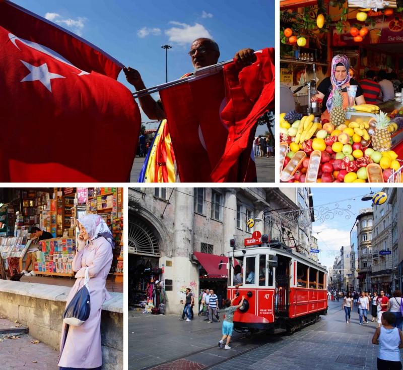 Istanbul straatleven