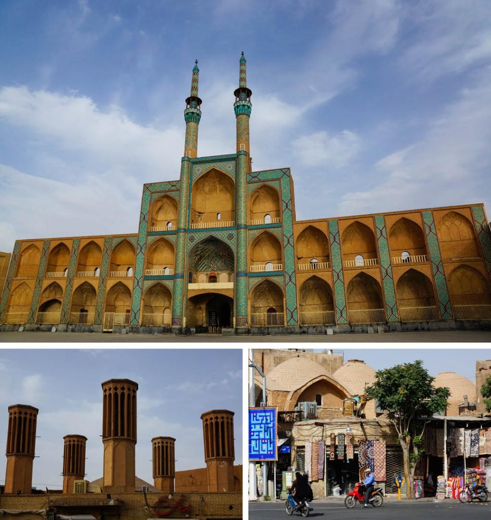 stad woestijn Yazd Iran