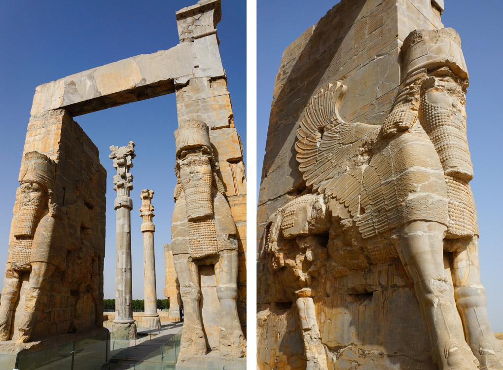 ruines Persepolis in Iran