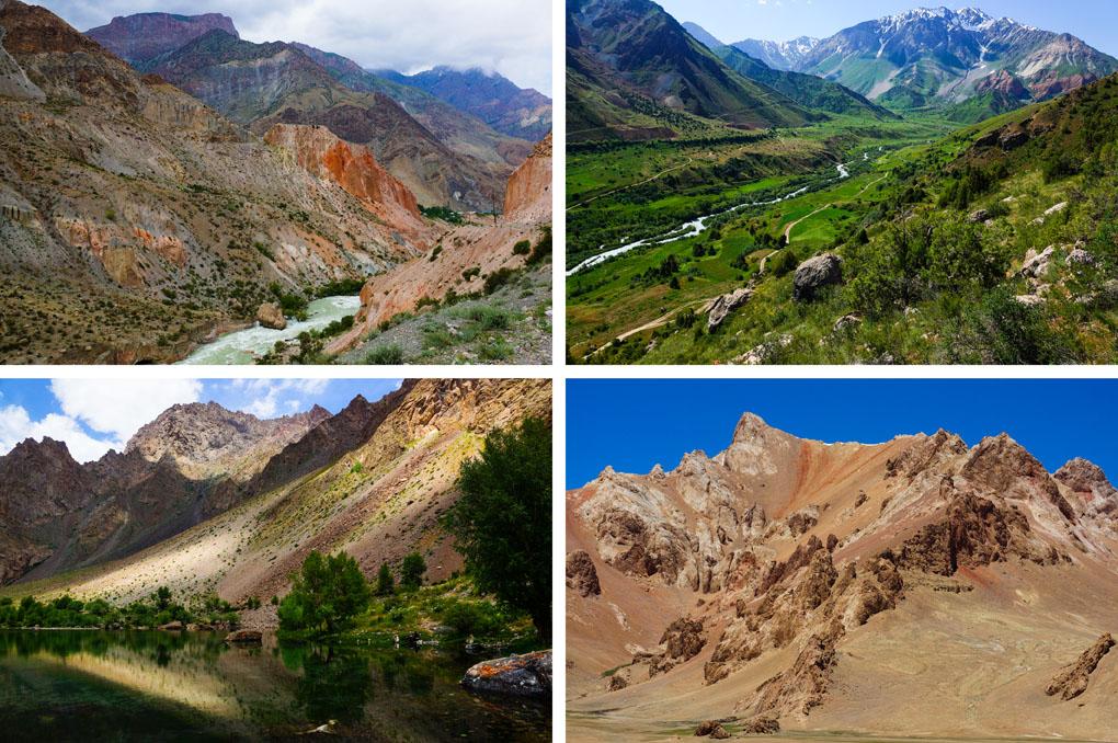 Tadzjikistan bergen