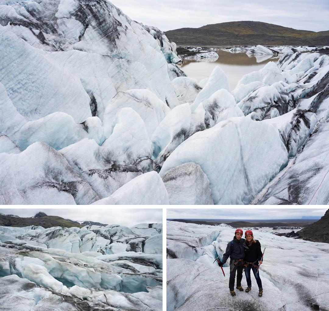 gletsjer hike IJsland