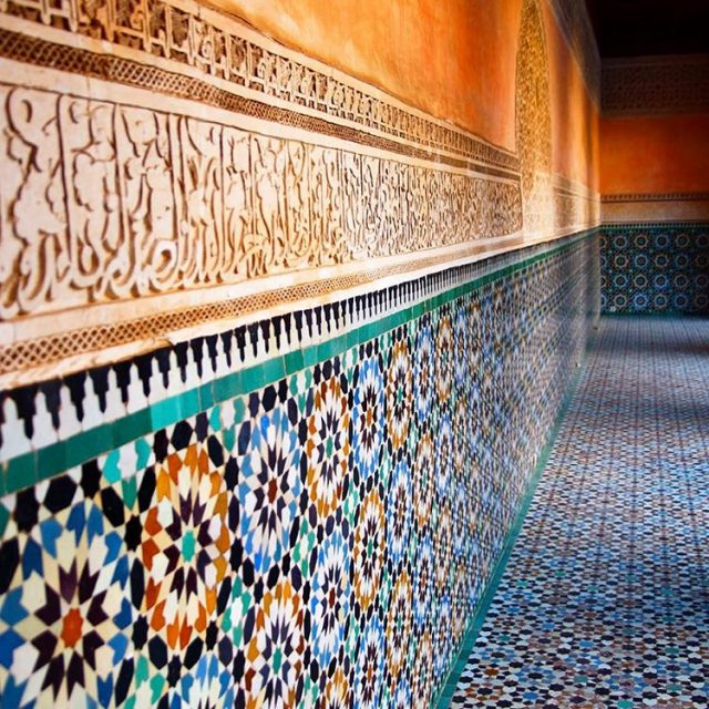 The details in the Koran schools of Morocco are stunninghellip