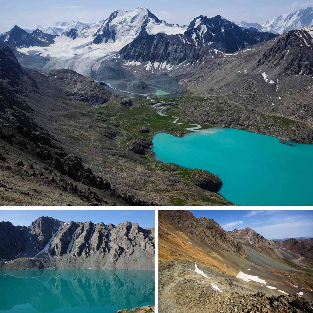 Kirgizië trekking