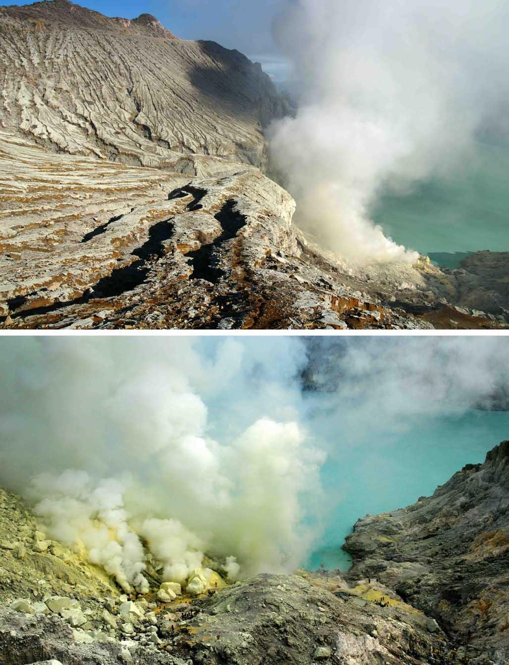 Ijen vulkaan Java