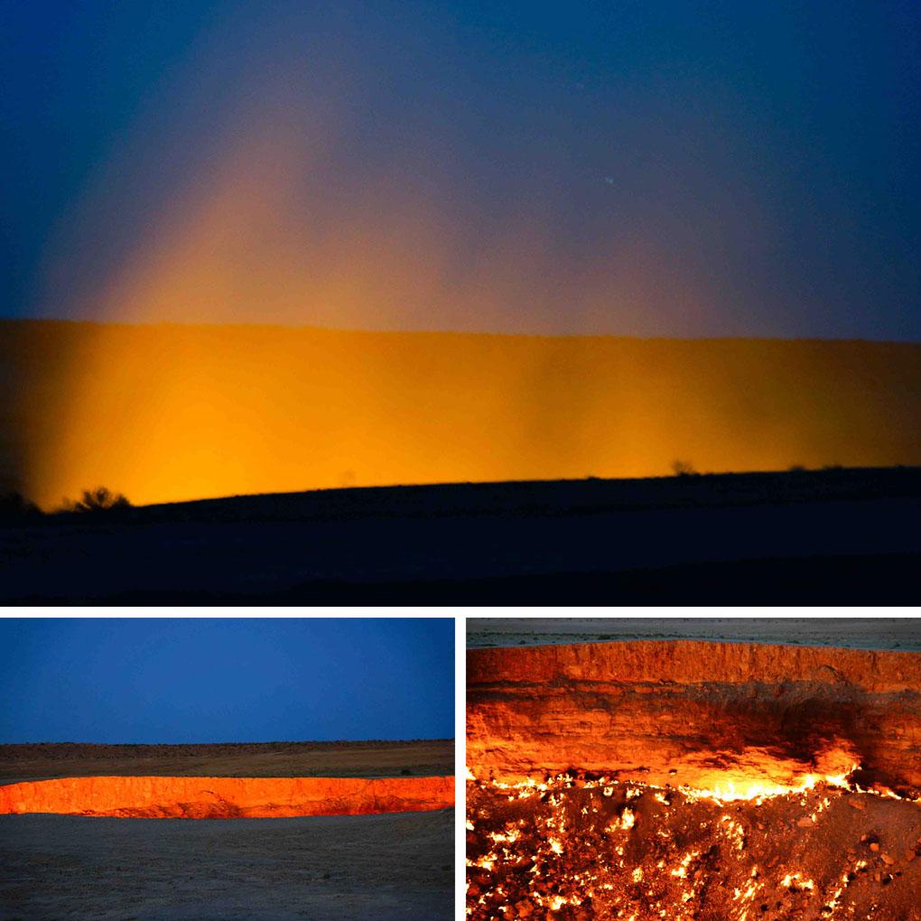 Derwaza krater Turkmenistan