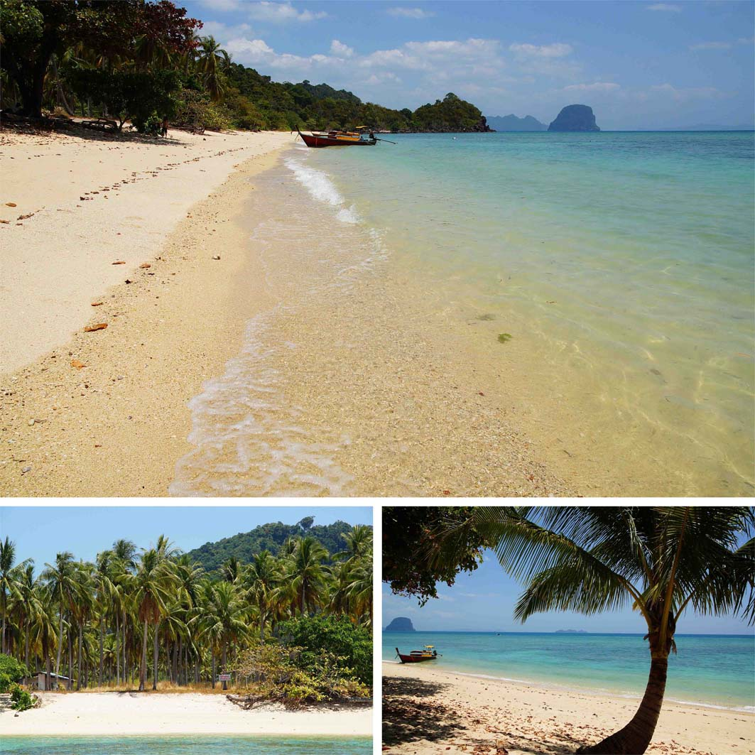 Four islands Thailand