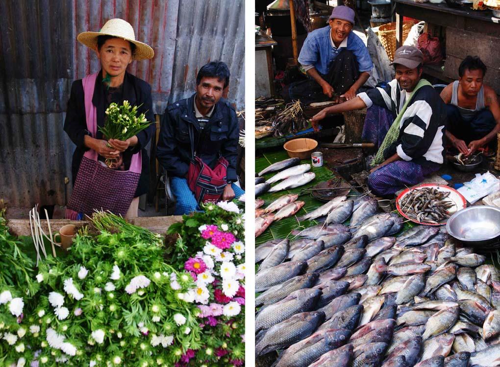 Markt Myanmar