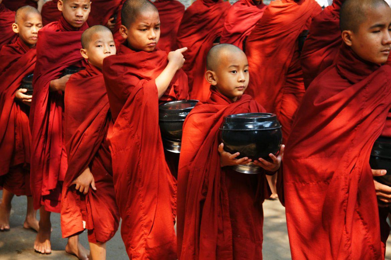 Myanmar monniken
