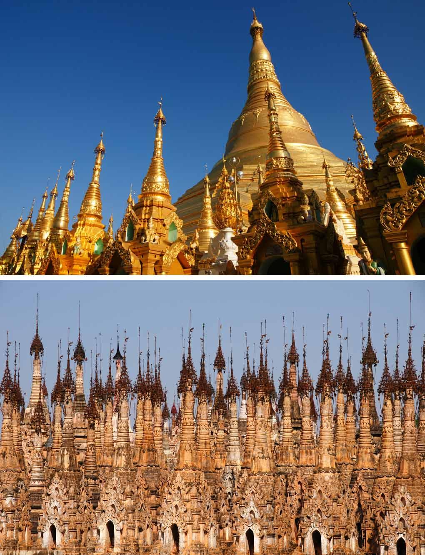Myanmar tempels