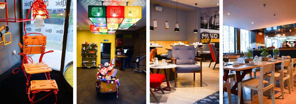 Hoteltip qbic hotel london city karlijn travels for Design hotel qbic