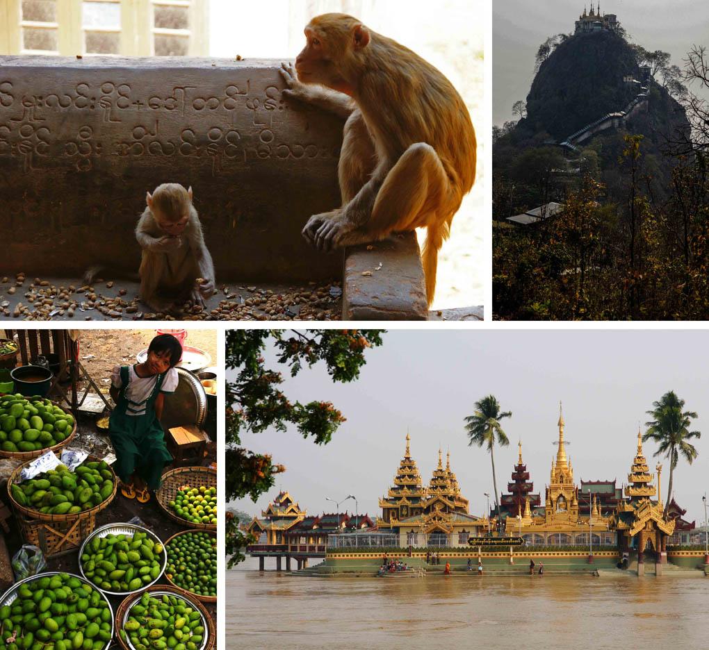 Route Myanmar