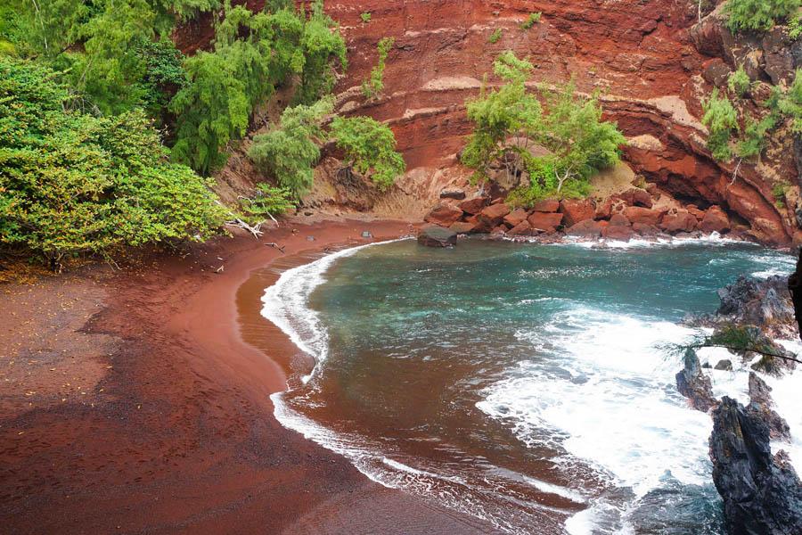 rood strand