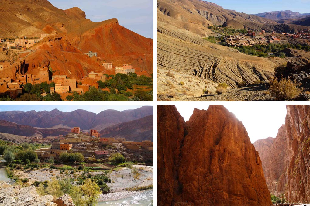 Dades Vallei Marokko