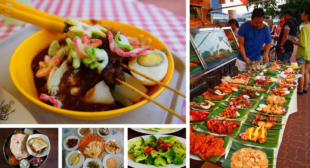 Singapore eten
