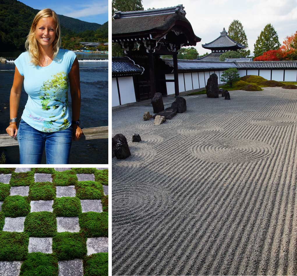 Zen-tuinen-Kyoto