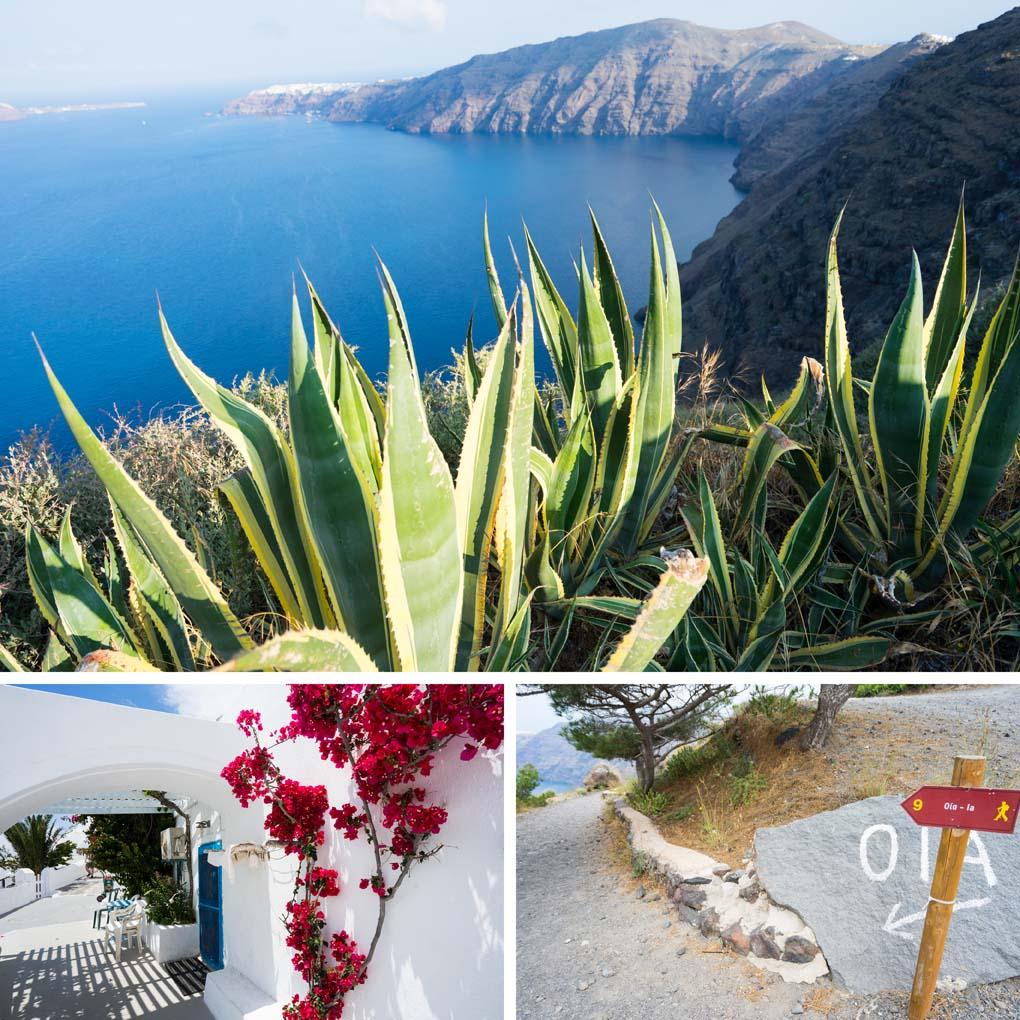 Santorini Fira Oia hike