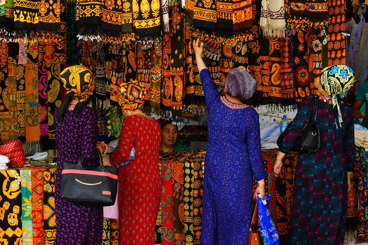Turkmenistan markt