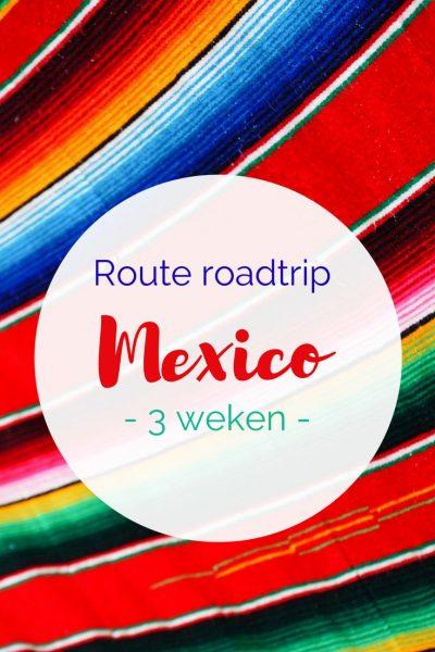route roadtrip Mexico