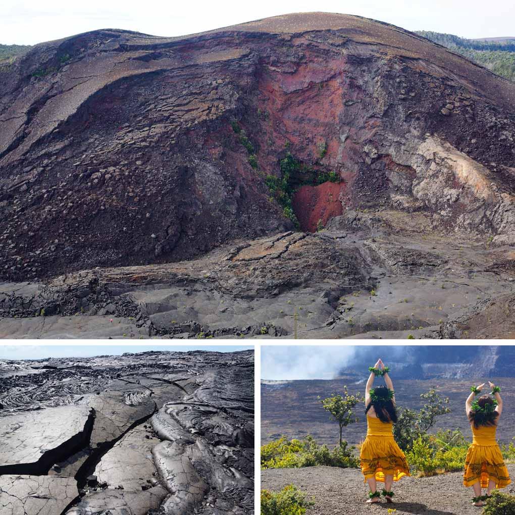 vulkanen The Big Island