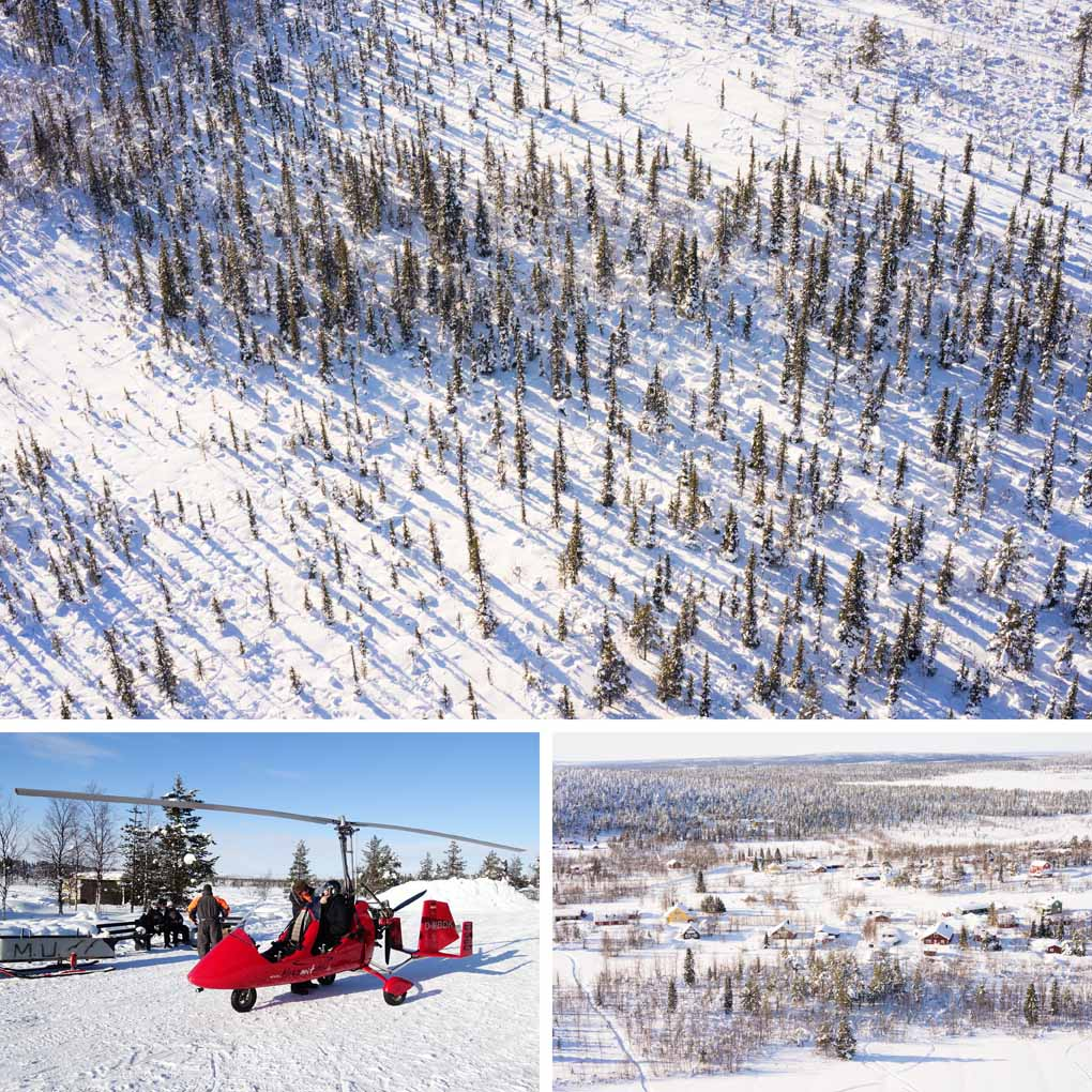 gyrocopter Lapland