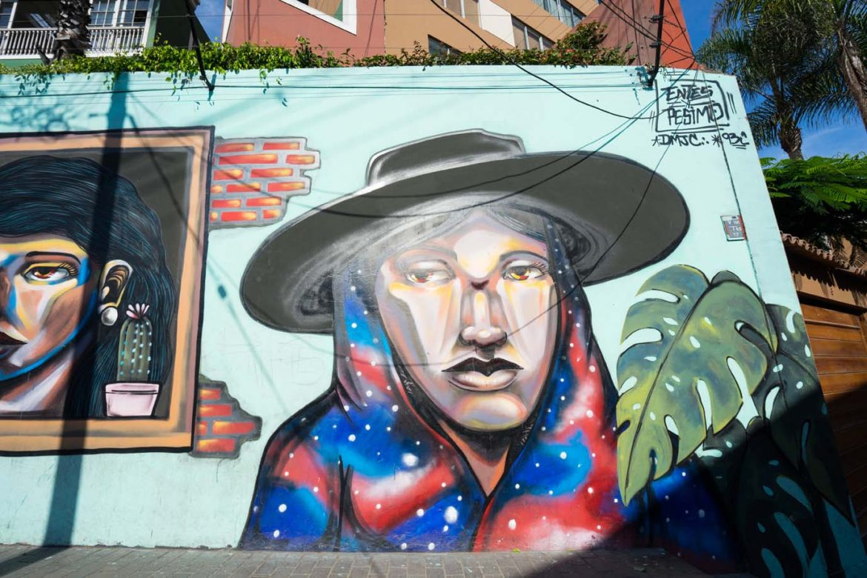 Street art Barranco Lima