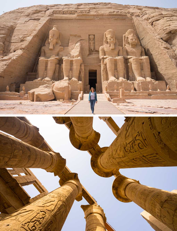 Abu Simbel Karnak