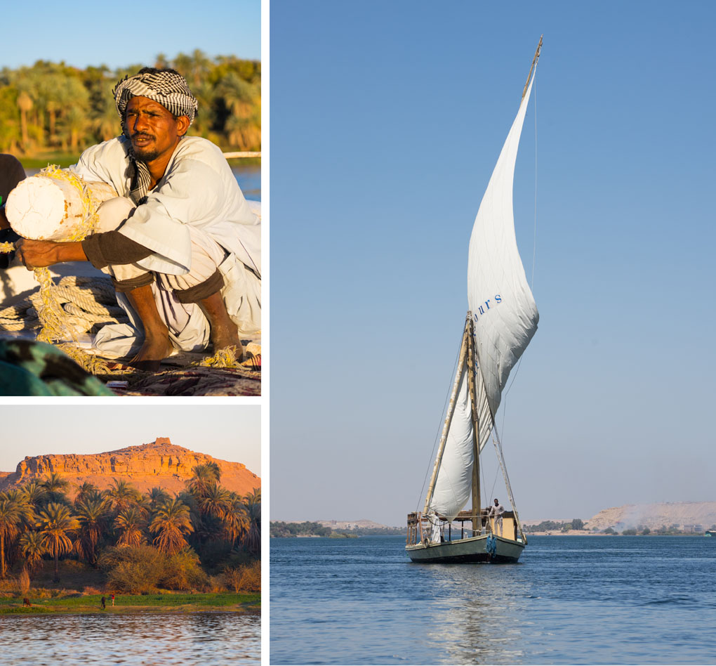 felucca Egypte