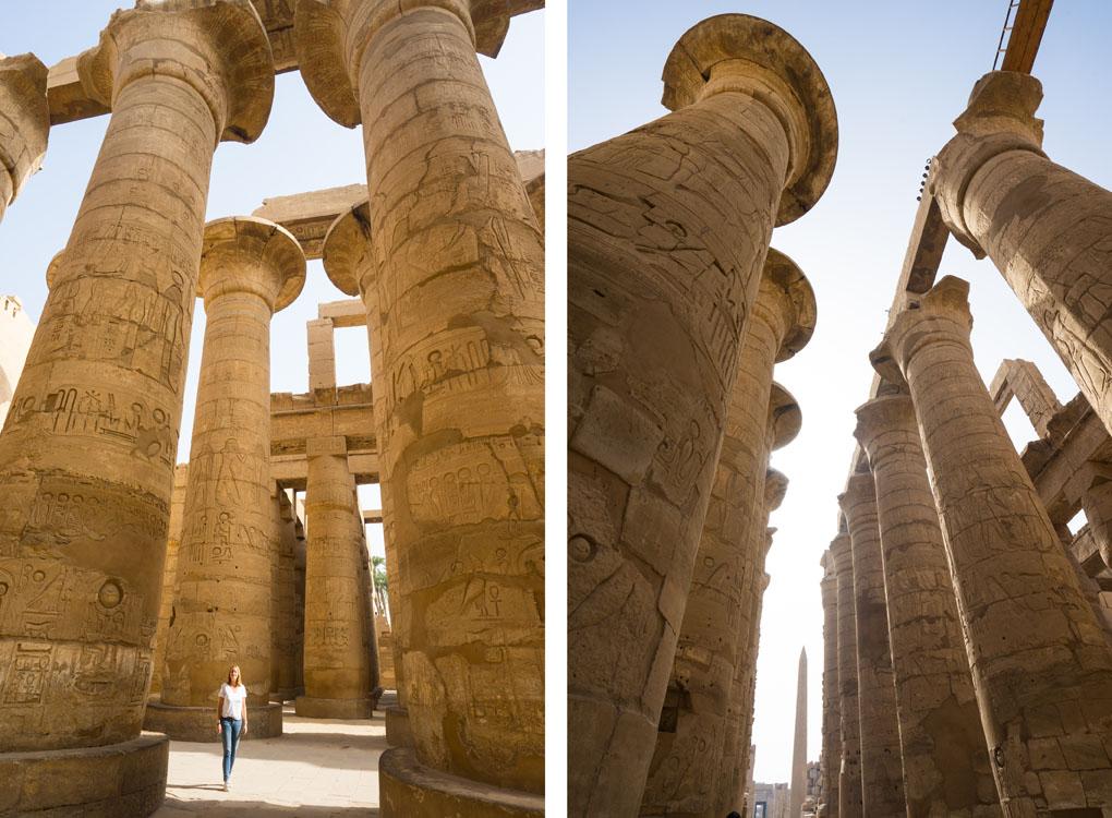 Karnak tempel Egypte