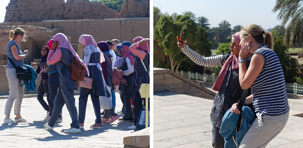 Selfies Egypte