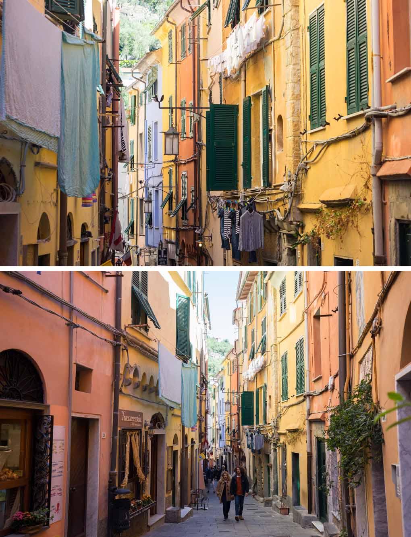 straten Portovenere Italië