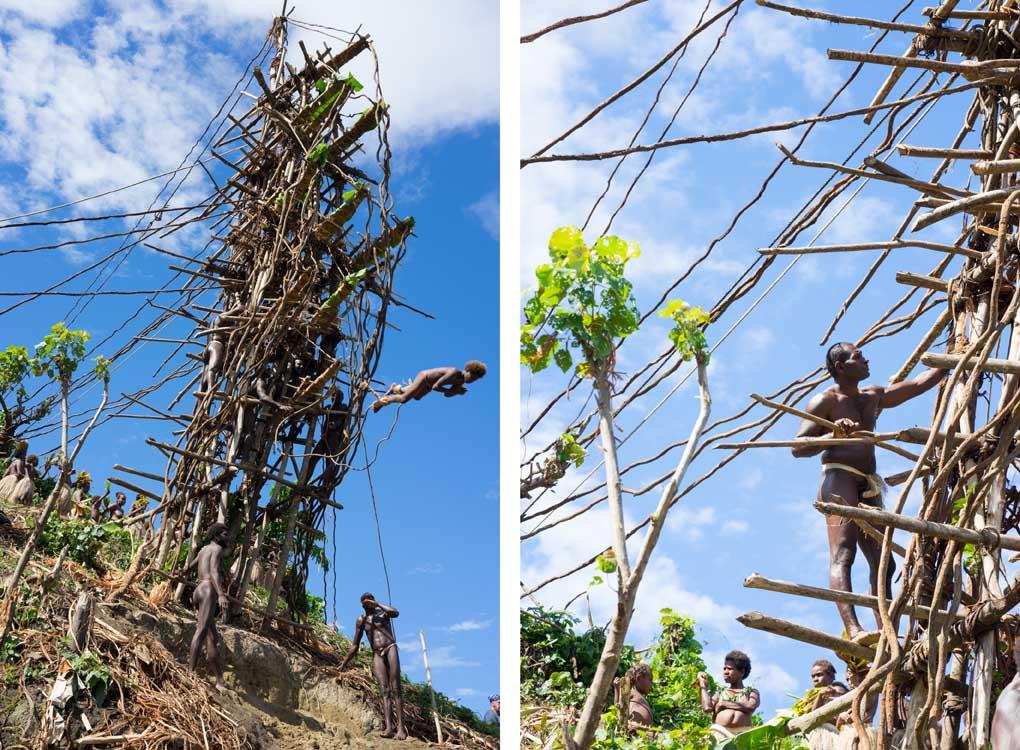 land diving Vanuatu