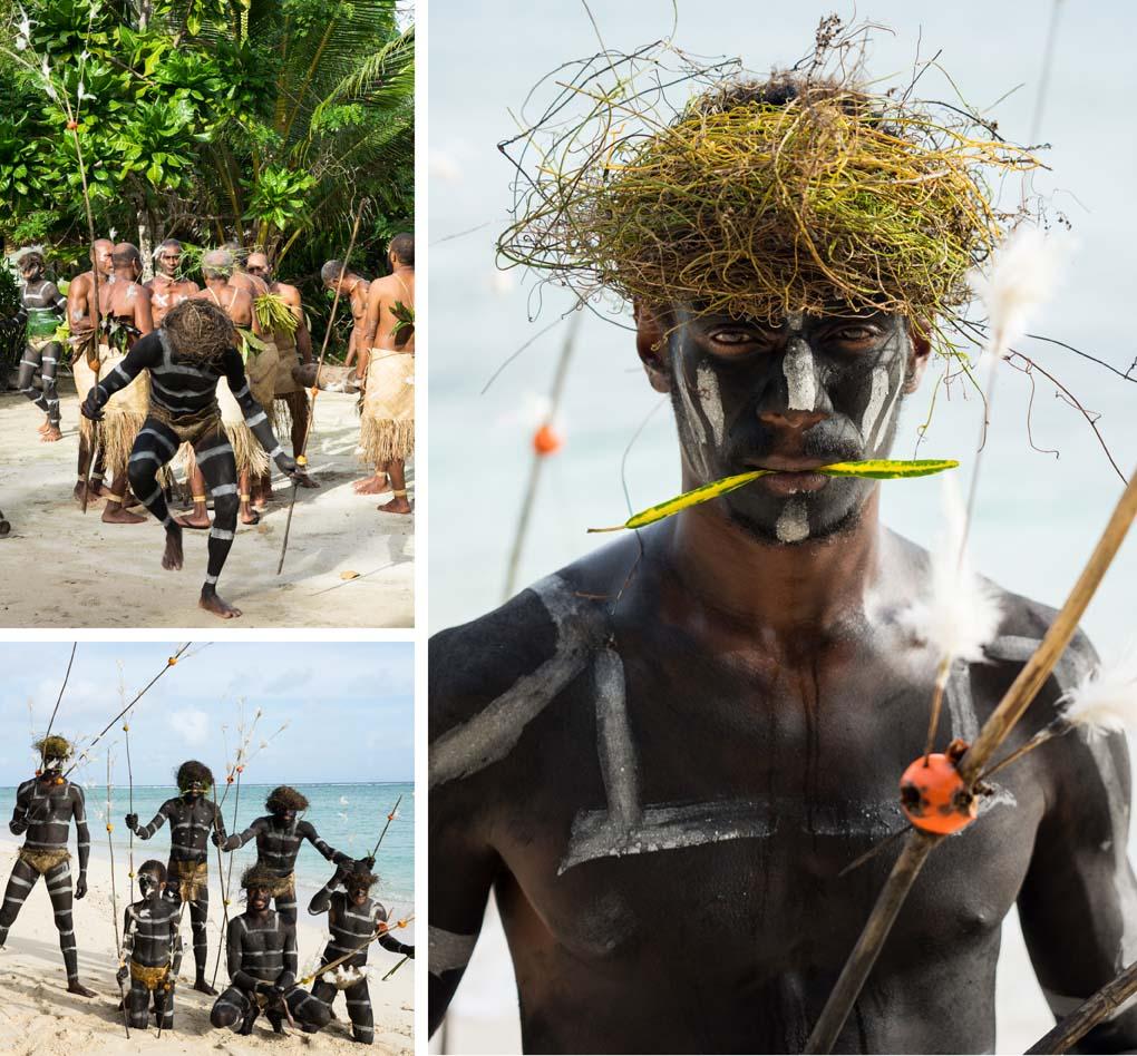 Snake dance Rah Island