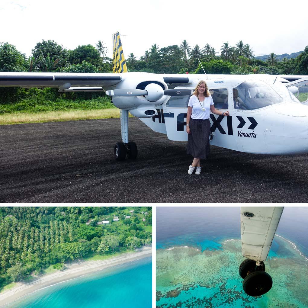 vliegen Vanuatu