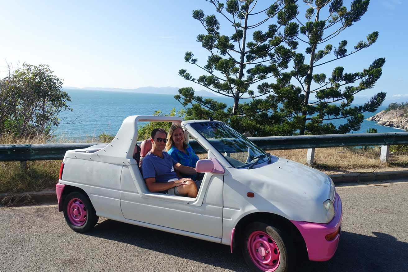 topless car Magnetic Island