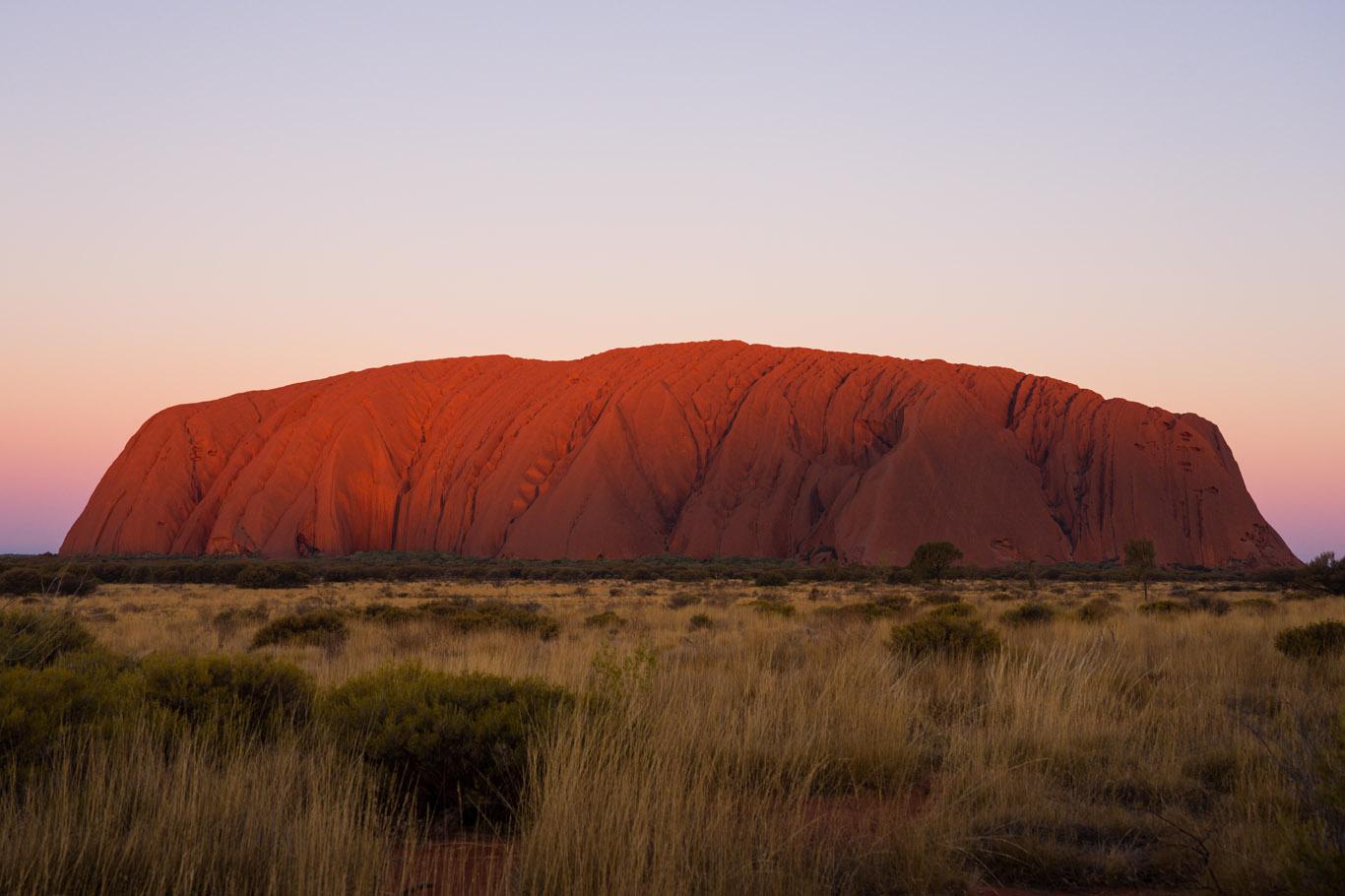 Uluru-Australië