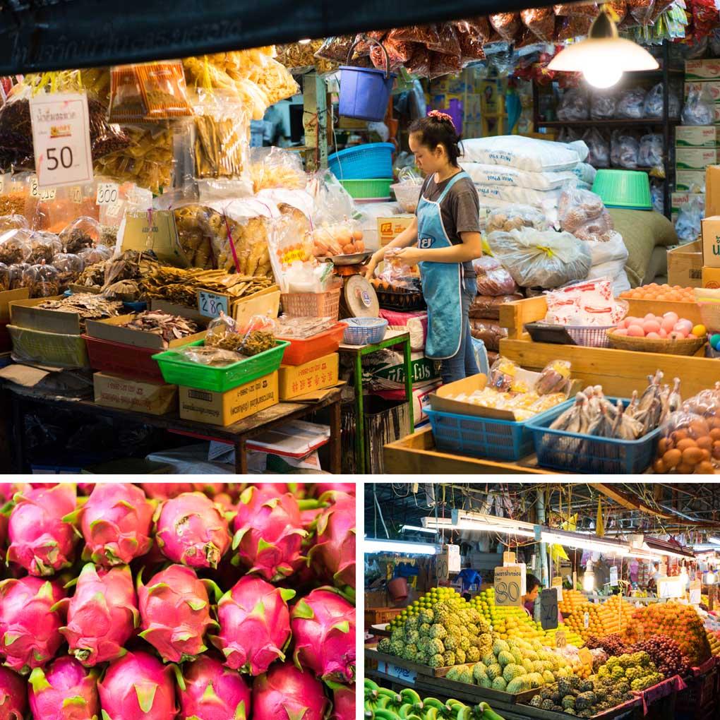 Klong Thoey Market Bangkok